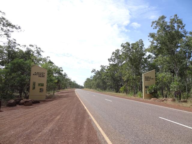 カカドゥ国立公園ゲート